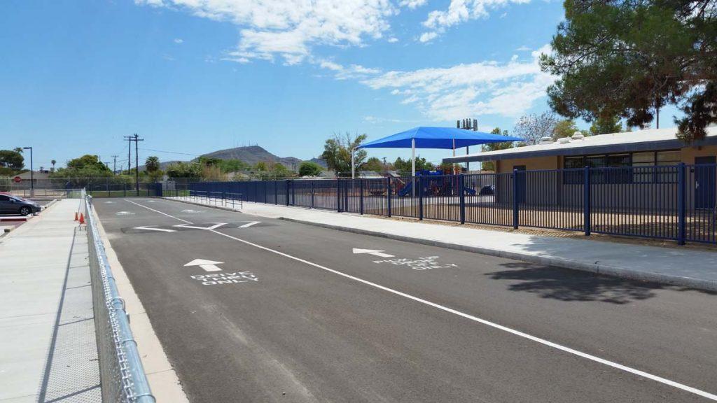 Playground Parking Lot